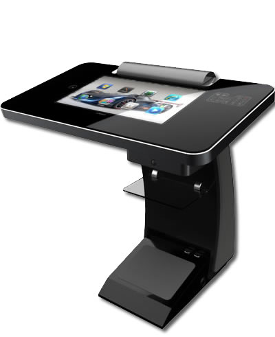 CommBox Lectern touchpanel monitor and control system